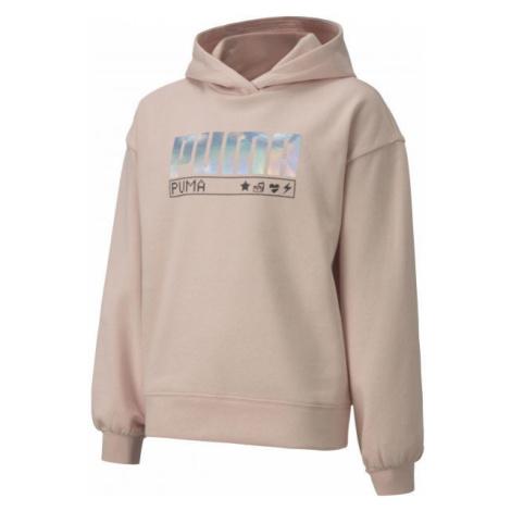 Puma ALPHA HOODIE FL G - Sweatshirt für Mädchen