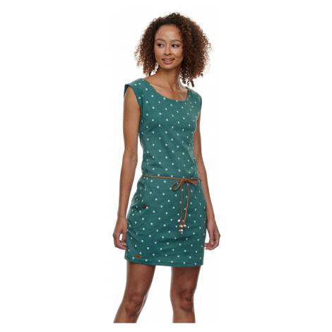 Ragwear Kleid Tag Dots dark green