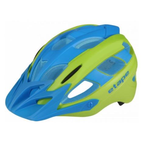 Blaue fahrradhelme