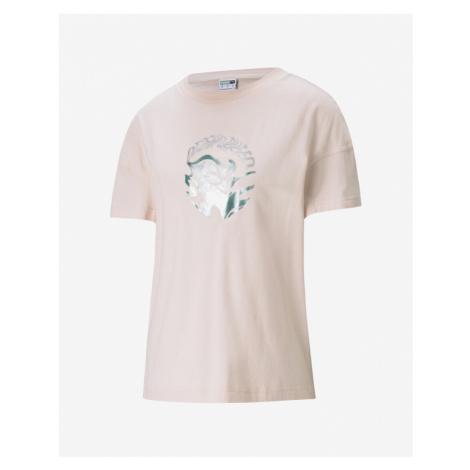 Puma Evide Graphic T-Shirt Rosa