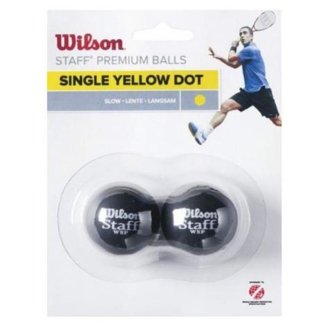 Wilson STAFF SQUASH 2 BALL YEL DOT - Squashball