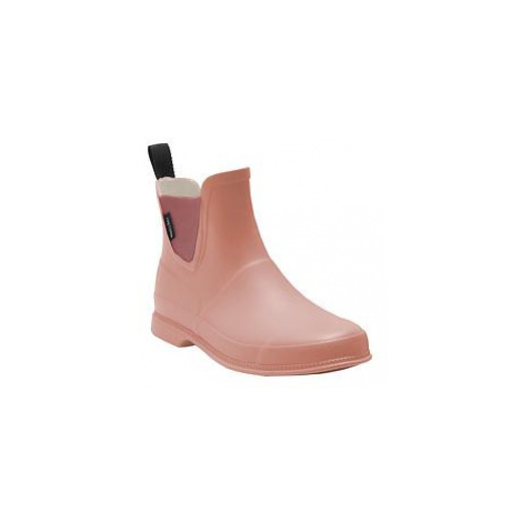 Gummi-Stiefelette Eva rosa