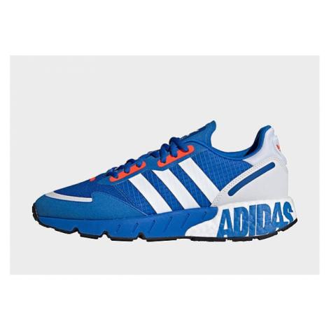 Adidas Originals ZX 1K Boost Schuh - Glow Blue / Cloud White / Solar Red - Damen, Glow Blue / Cl