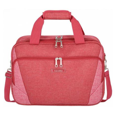 Rote reisekoffer und -gepäck für damen