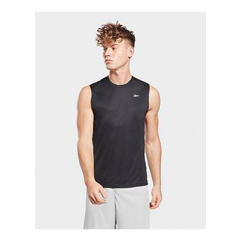 Reebok workout ready sleeveless tech shirt - Black - Herren, Black