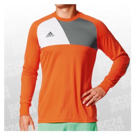 Adidas Assita 17 Goalkeeper Jersey orange/grau Größe XXL