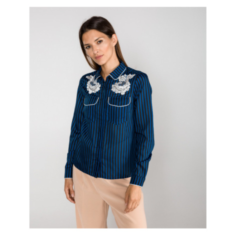 Silvian Heach Aniladia Hemd Blau