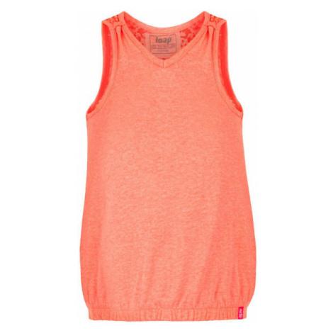 Loap BORKA orange - Tank-Top für Mädchen
