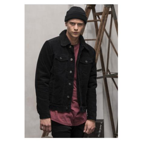 Jacke Urban Classics Sherpa Corduroy Jacket black/black