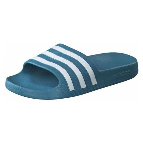 Adidas Adilette Aqua Badepantolette Damen blau