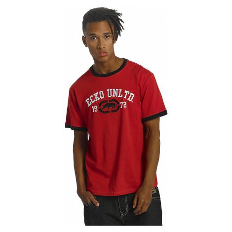 Ecko Unltd T-Shirt Herren FIRST AVENUE T-Shirt Rot Red Ecko unltd.