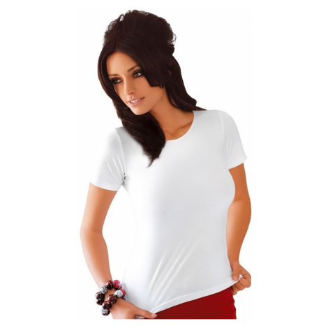 Damen T-Shirts Carla plus white Babell