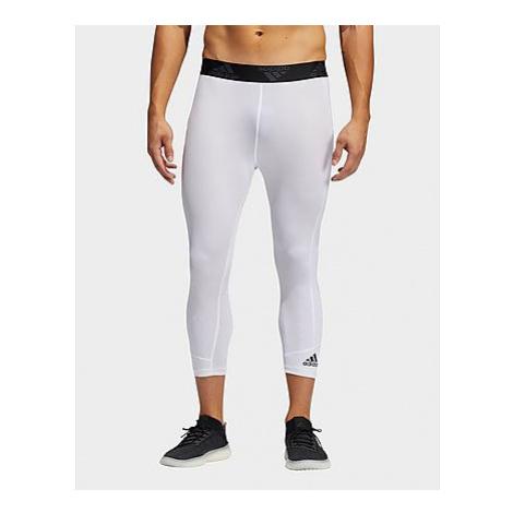 Adidas Techfit 3/4-Tight - White - Herren, White