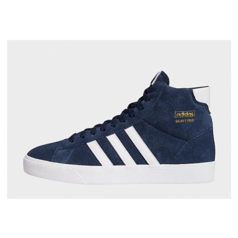 Adidas Originals Basket Profi Schuh - Collegiate Navy / Cloud White / Gold Metallic - Damen, Col