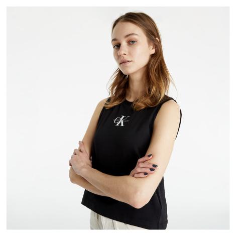 Calvin Klein Jeans Monogram Tank Top Black