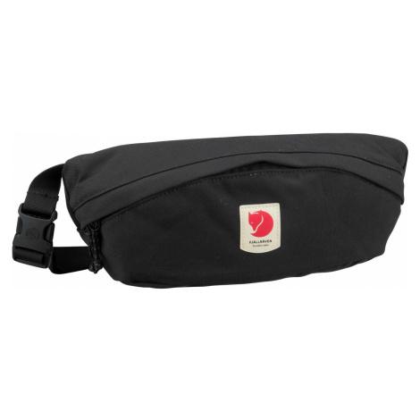 Fjällräven Gürteltasche Ulvö Hip Pack Medium Black (2 Liter)