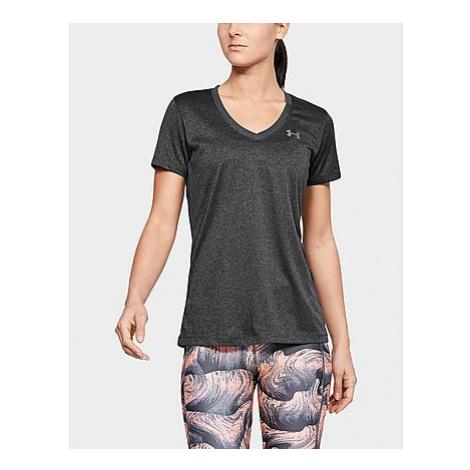 Under Armour Tech Twist T-Shirt Damen - Carbon Heather - Damen, Carbon Heather