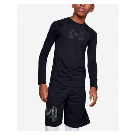 Under Armour HeatGear® Armour Kinder  T‑Shirt Schwarz