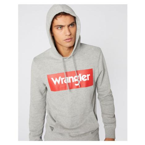 Wrangler Sweatshirt Grau
