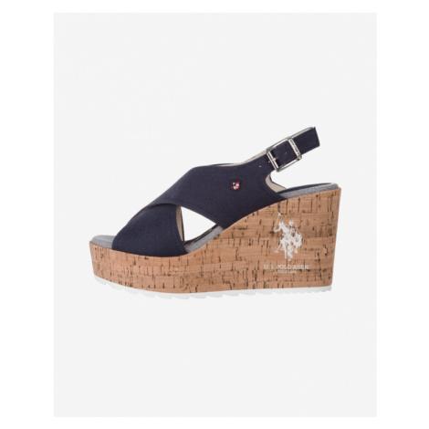 U.S. Polo Assn Theba Schuhe mit Keilabsatz Blau