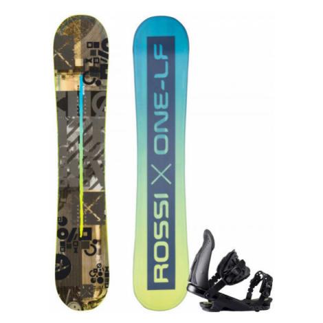 Rossignol ONE LF WIDE + CUDA M/L - Herren Snowboard Set