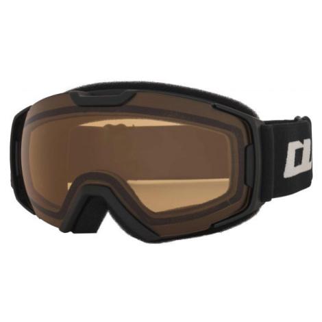 Arcore FLATLINE schwarz - Ski-/Snowboardbrille für Junioren