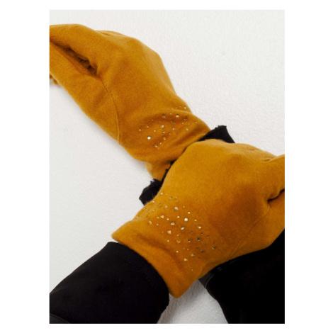CAMAIEU Handschuhe Orange