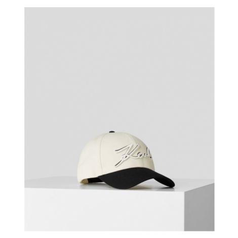 KARL SIGNATURE CAP MIT SCHATTENEFFEKT Karl Lagerfeld
