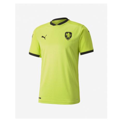 Puma Czech Republic Away Replica T-Shirt Gelb