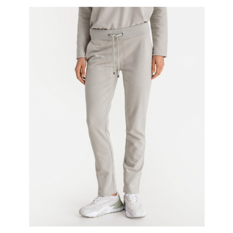 JUVIA Turn-Up Fleece Jogginghose Grau