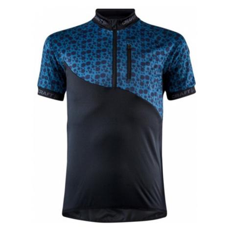Trikot CRAFT Bike JR 1909338-999676 - black mit blau