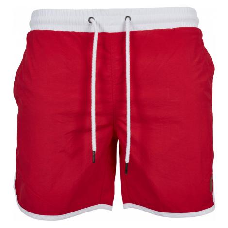 Urban Classics Herren Badehose Retro Swimshorts - Regular Fit