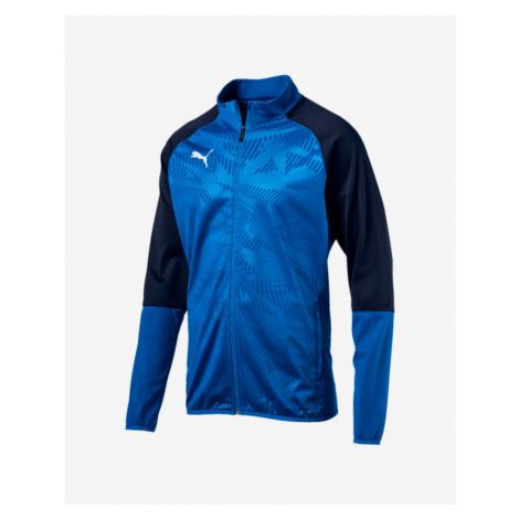 Puma Cup Training Poly Core Jacket Schwarz Blau