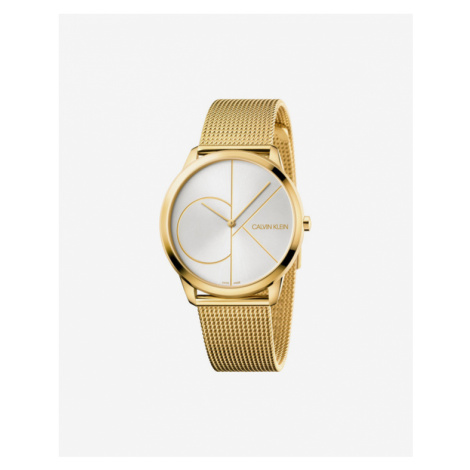 Calvin Klein Minimal Armbanduhr Gold