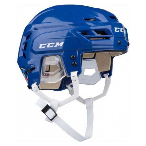 CCM TACKS 110 SR blau - Hockey Helm
