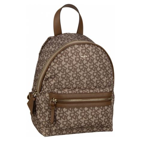 DKNY Rucksack / Daypack Casey Medium Backpack Chino Logo/Vicuna