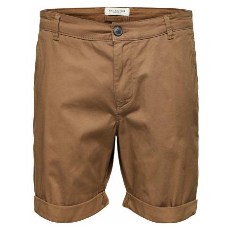SELECTED Slhparis Regular Fit - Shorts Herren Braun