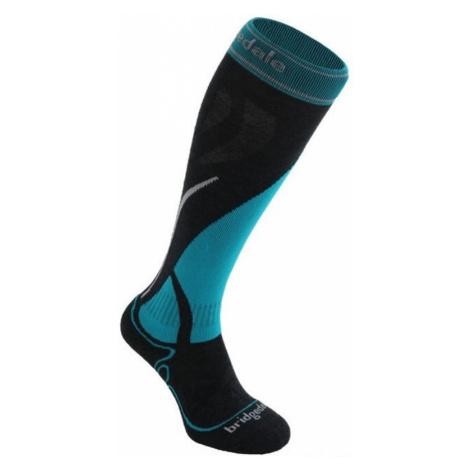 Socken Bridgedale Ski Midweight Women's gunmetal/turquoise/004