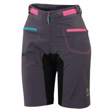 Graue training shorts für damen