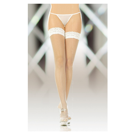 Halterlose Strümpfe für Damen 5517 white SoftLine Collection