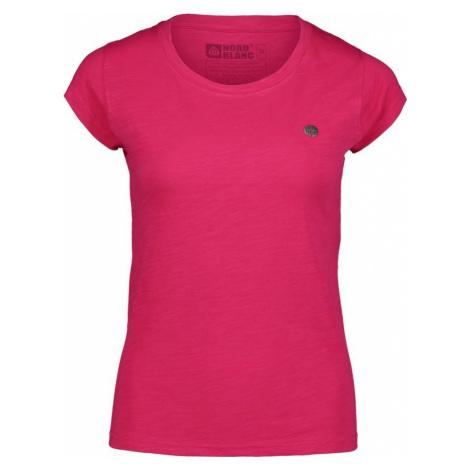 Damen baumwolle T-Shirt NORDBLANC rustikal NBSLT6735_RUV