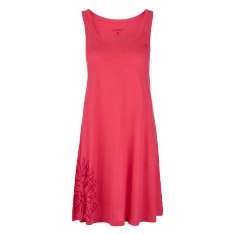 Loap ASTRIS rosa - Sommerkleid