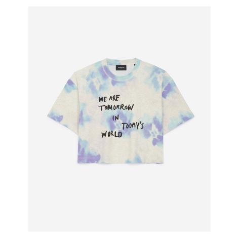 The Kooples - T-Shirt bedruckt Baumwolle Batik - HERREN