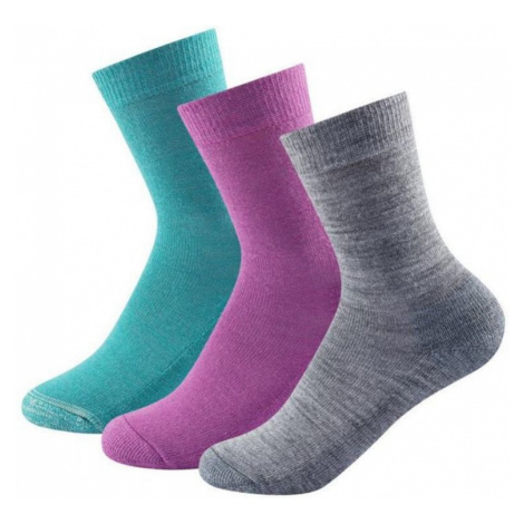 Socken Devold DAILY Medium KID SOCK 3 Pack SC 593 023 A 370A