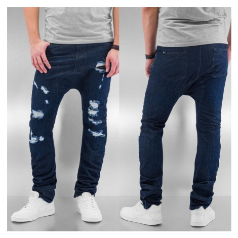 Just Rhyse Ole Antifit Jeans Dark Blue