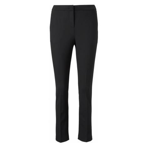 TOM TAILOR MINE TO FIVE Damen Klassische Hose in Ankle-Länge, schwarz