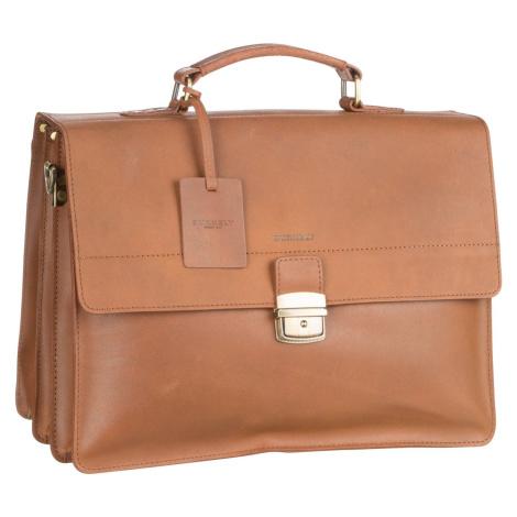 Burkely Aktentasche Vintage Dean Briefcase 6379 Cognac (14.6 Liter)