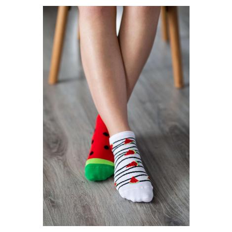 Barfuß-Socken - Melone 43-46