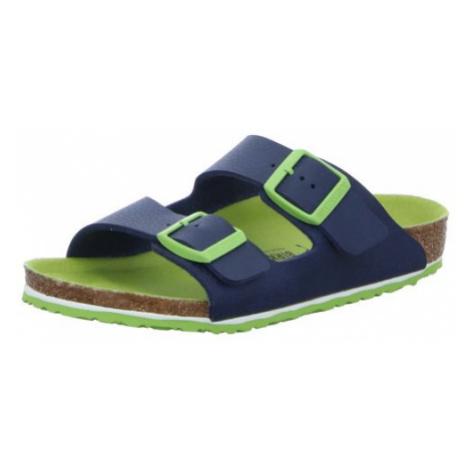 Unisex Birkenstock Jungen Sandalen blau