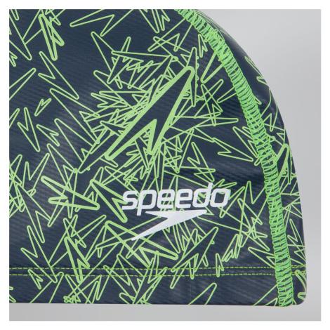 Speedo Boom Ultra Pace Badekappe, Grau/Gelb
